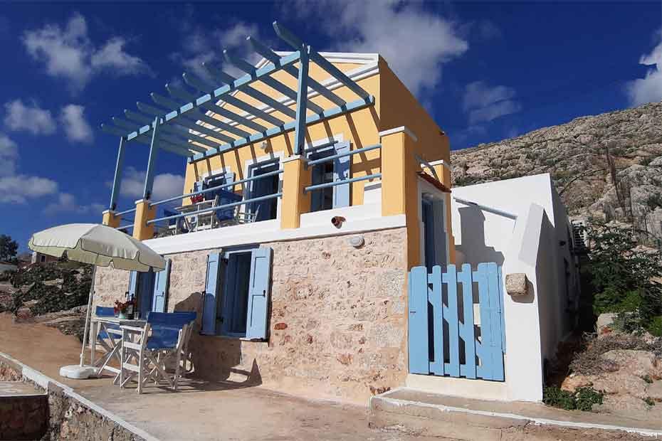 Greek villas 2 rent, Chalki Panorama, Holiday Villas and Homes in Rhodes and Halki island, Vacation Rentals in Chalki and Rhodes, greek-villas-2-rent-1-Chalki Panorama 2